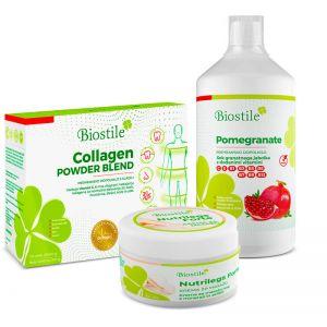 Biostil Set Collagen Pomegranate Nutrilegs