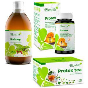 Pacchetto STOP INFIAMMAZIONE - Protex Capsule , Protex Tè e Kidney
