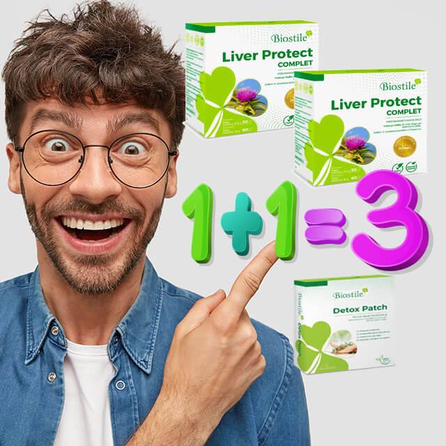 Biostile Sonderangebot Beim Kauf von zwei Biostile Liver Protect Sets schenken wir Ihnen Detox Patches!